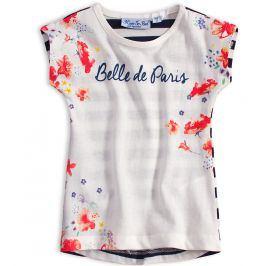Dívčí tričko KNOT SO BAD PARIS bílé Velikost: 92