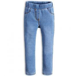 Dívčí kalhoty jeggings KNOT SO BAD STYLE světle modré Velikost: 92