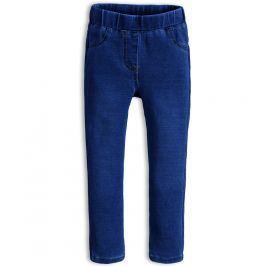 Dívčí kalhoty jeggings KNOT SO BAD STYLE tmavě modré Velikost: 92