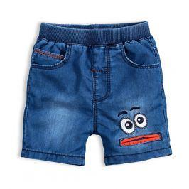 Dětské šortky KNOT SO BAD EYES oranžová Velikost: 62