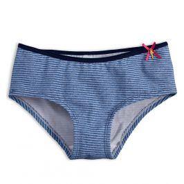 Dívčí kalhotky KEY PROUŽKY modré Velikost: 140-146