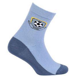 Chlapecké ponožky se vzorem GATTA GÓL modré Velikost: 27-29