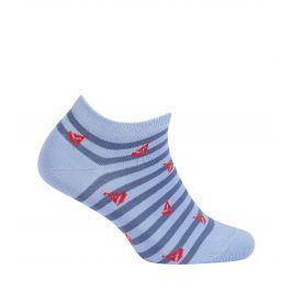 Dětské kotníkové ponožky WOLA PLACHETNICE modré Velikost: 24-26