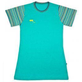 Noční košile KEY RAINBOW tyrkysová Velikost: 140