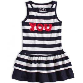 Dívčí letní šaty LOSAN NICE DAY proužkované Velikost: 98