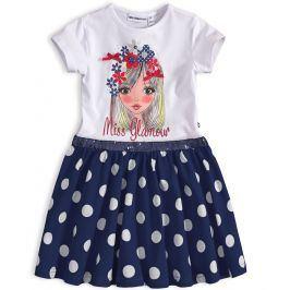 Dívčí šaty Mix´nMATCH MISS GLAMOUR modré Velikost: 98