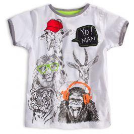 Dětské tričko KNOT SO BAD YO MAN bílé Velikost: 104
