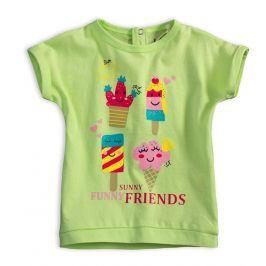Dětské tričko KNOT SO BAD FUNNY SUNNY zelené Velikost: 62