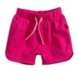 Dívčí bavlněné šortky KNOT SO BAD SRDÍČKO růžové Velikost: 62