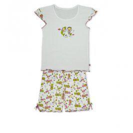 Dívčí letní pyžamo KEY MERMAID bílé Velikost: 128