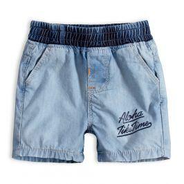 Dětské šortky KNOT SO BAD ALOHA světle modré Velikost: 62