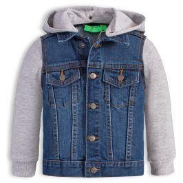 Chlapecká džínová bunda KNOT SO BAD JEANS STYLE modrá Velikost: 116