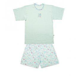 Dívčí pyžamo KEY LETTER světle modré Velikost: 128