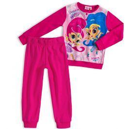 Dívčí pyžamo SHIMMER & SHINE DREAM tmavě růžové Velikost: 98