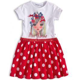 Dívčí šaty Mix´nMATCH MISS GLAMOUR červené Velikost: 98