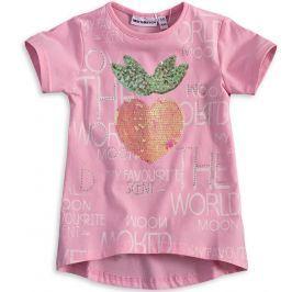 Dívčí tričko s překlápěcími flitry Mix´nMATCH BERRY světle růžové Velikost: 98