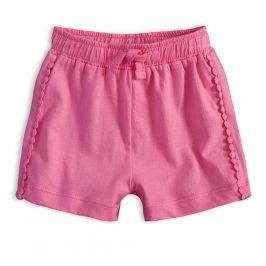 Kojenecké šortky KNOT SO BAD DOTS růžové Velikost: 62