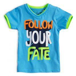 Chlapecké tričko KNOT SO BAD FOLLOW modré Velikost: 92