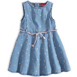 Dívčí letní šaty KNOT SO BAD FREE SUMMER bílé výšivky Velikost: 92