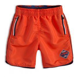 Chlapecké koupací šortky KNOT SO BAD DANGER oranžové Velikost: 128