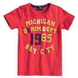 Chlapecké tričko MINOTI DENIM červené Velikost: 104-110