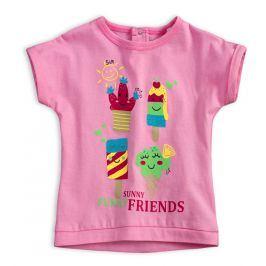 Dětské tričko KNOT SO BAD FUNNY SUNNY růžové Velikost: 62