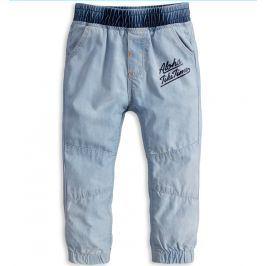 Dětské kalhoty KNOT SO BAD ALOHA světle modré Velikost: 62