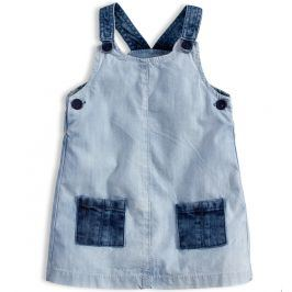 Dívčí šaty KNOT SO BAD DENIM STYLE světle modré Velikost: 62