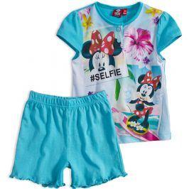 Dívčí letní pyžamo Disney MINNIE SELFIE tyrkysové Velikost: 110