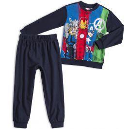 Chlapecké pyžamo MARVEL AVENGERS tmavě modré Velikost: 98