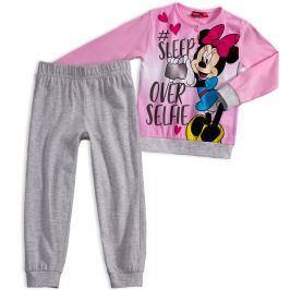 Dívčí pyžamo Disney MINNIE SLEEP světle růžové Velikost: 116