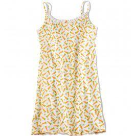 Dívčí noční košile Key CARROTS bílá Velikost: 158-164