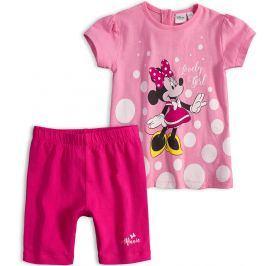 Dívčí letní souprava Disney MINNIE LOVELY GIRL růžová Velikost: 92