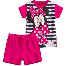 Dívčí letní pyžamo Disney MINNIE I LOVE MICKEY růžové Velikost: 104