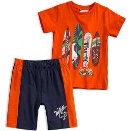 Chlapecká letní souprava Mix´nMATCH SURF RIDER oranžová Velikost: 98
