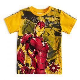 Chlapecké tričko MARVEL IRON MAN žluté Velikost: 98