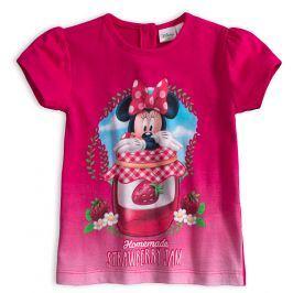 Tričko pro holčičky Disney MINNIE STRAWBERRY růžové Velikost: 86