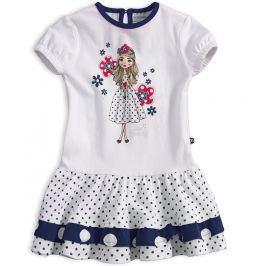 Dívčí šaty s krátkým rukávem Mix´nMATCH MISS SWEETY modré Velikost: 92