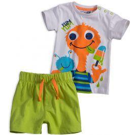 Dětská letní souprava KNOT SO BAD PŘÍŠERKA oranžová Velikost: 62