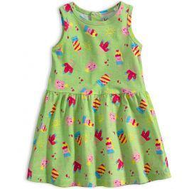Kojenecké letní šaty KNOT SO BAD ICE CREAM zelené Velikost: 62