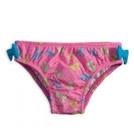 Kojenecké plavky KNOT SO BAD MAŠLIČKY růžové Velikost: 74