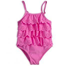 Dívčí plavky vcelku KNOT SO BAD LOVE SUMMER růžové Velikost: 92