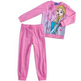 Dívčí pyžamo DISNEY FROZEN ELSA růžové fuchsia Velikost: 98