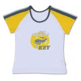 Dívčí tričko KEY bílé Velikost: 158-164