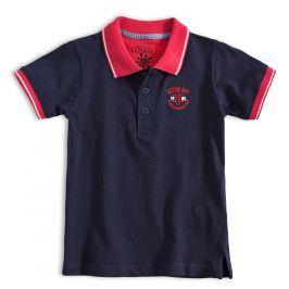 Chlapecké tričko polo LOSAN OCEAN BAY modré Velikost: 98