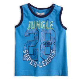 Chlapecké tričko Mix´nMATCH JUNGLE modré Velikost: 92