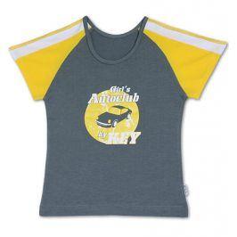 Dívčí tričko KEY šedé Velikost: 158-164