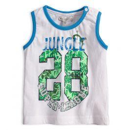 Chlapecké tričko Mix´nMATCH JUNGLE bílé Velikost: 92