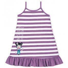 Dívčí noční košile Kyly PROUŽEK fialová Velikost: 104