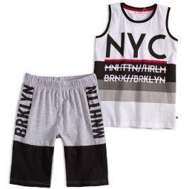Chlapecká souprava Mix´nMATCH NYC bílá Velikost: 128